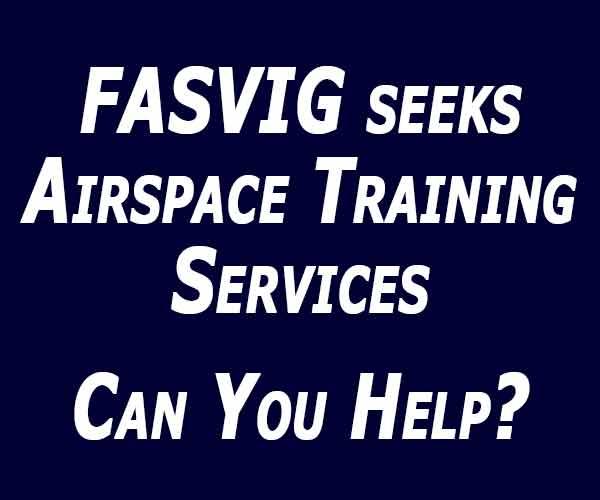 FASVIG seeks Airspace Training Services