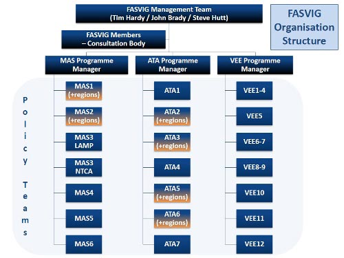 FASVIG Organisation Structure