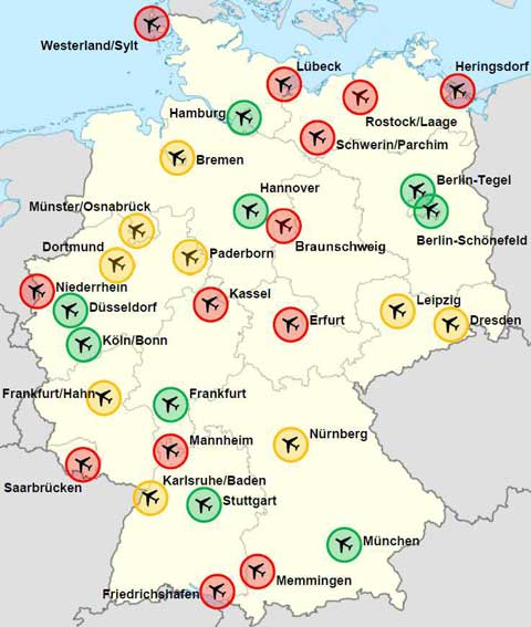 Airspace in Germany