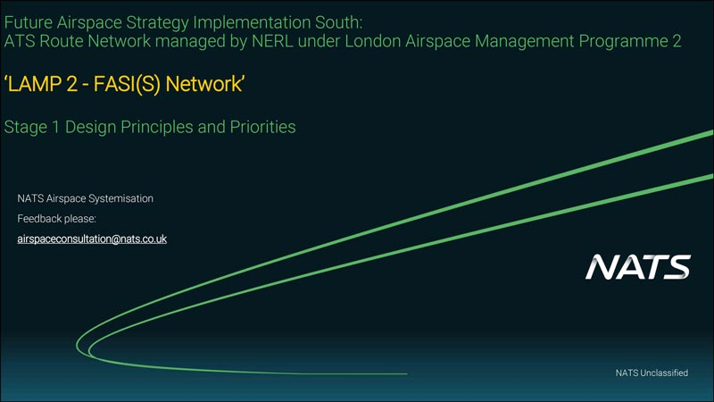 NATS Consultation on FAS London Airspace Management Programme 2 Design Principles and Priorities