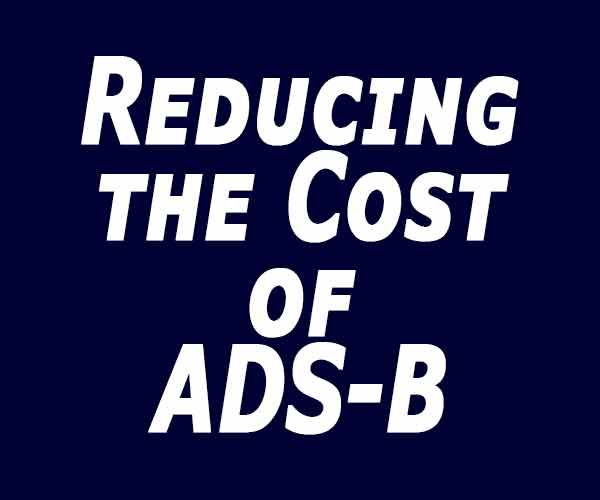 Reducing the cost of ADS-B
