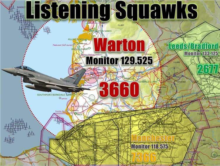 Warton 3660 Listening Squawk