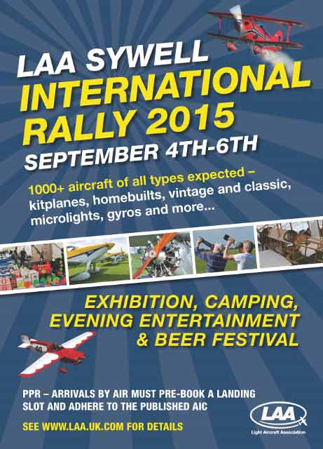 LAA Rally Sywell 4th-6th September 2015